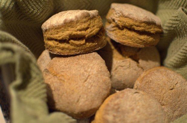 Fluffy Pumpkin Biscuits